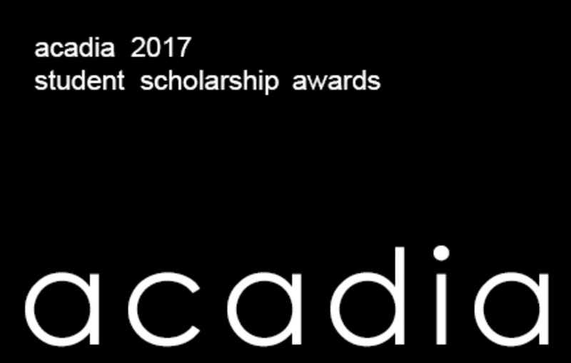 acadia17 student scholarship award announcement